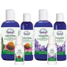 100% Natural Emu Oil Hand & Body Dry Skin Lotions are available in Unscented and Lavender Aromatherapy Formulas.  I use the replenishing Hand and Body Lotion daily on face, hands, and body