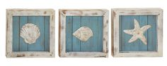 Beautiful Wood Wall Decorative 3 Assorted