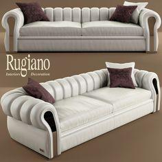 Couch Sofa 3D Model - 3D Model