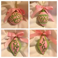 Sorors, if you know a vendor who sells these Alpha Kappa Alpha Christmas ornaments, please leave a comment here or in FB (AKAPearl).