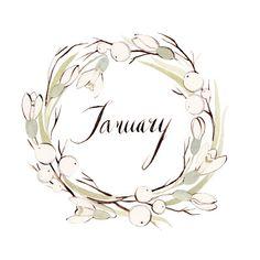 January ~ Kelsey Garrity-Riley illustration