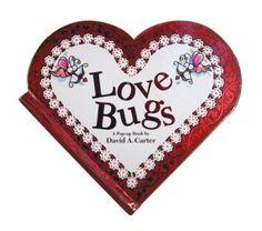 Little Obsessed - Love Bugs Mini #Heart Book, $4.99 (http://www.littleobsessed.com/love-bugs-mini-heart-book/)