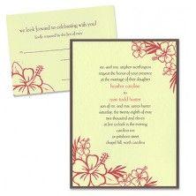 Trista 2-Layer Wedding Invitations - MyGatsby Invitations