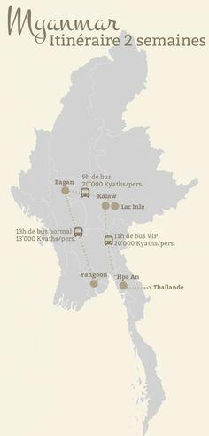 Voyage en Birmanie: Conseil de voyageurs, Itinéraire et Budget Voyage (Myanmar)