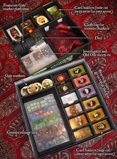 Foamcore, the DH horror expansion box, and all of Arkham Horror is neatly stored away.