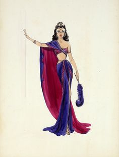 costumes for samson and delilah edith head - Google Search