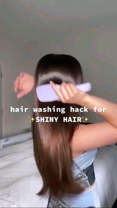 Hair Tips Video, Hair Videos, Hair Growing Tips, Grow Hair, Diy Hair Care, Hair Care Tips, Healthy Hair Tips, Shiny Hair, Soft Hair