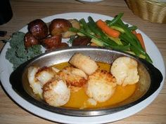 Scallops at the Lobster Pot Lake George, Scallops, Eggs, Lovers, Breakfast, Food, Meal, Egg, Eten
