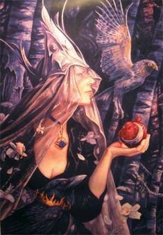 MOVRAN by Brian Froud (unsigned)
