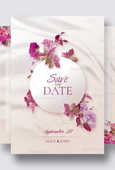 A very elegant wedding invitation! Editable, PSD FilesThis is a first-rate wedding Photoshop design and a quality card created to announce a wedding event!