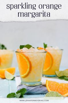 Little twist on a traditional margarita - made with silver tequila, lime juice, agave, then topped with sparkling orange soda. Easy Drink Recipes, Best Cocktail Recipes, Punch Recipes, Cooking Recipes, Fun Cocktails, Drinks, Beverages, You And Tequila, Silver Tequila
