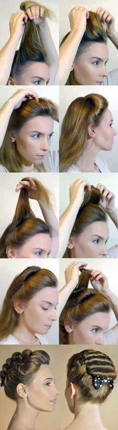 18th century hair style                                                       …