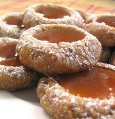 Nook & Pantry: Thumbprint Pumpkin Butter Cookies