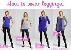 How to wear leggins