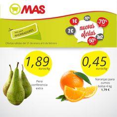 Hasta el 27 de febrero de 2014, la bolsa de 4 kg de naranjas para zumo a tan sólo a 1,79€. ¡Estas y muchas más #ofertas en #frutería!