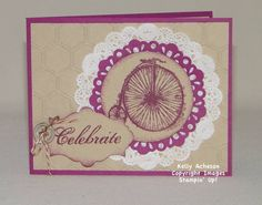 Doily Challenge - Creative Crew Design Team on Splitcoaststampers.com  I have more great projects with this stamp set on my blog here:    http://astampabove.typepad.com