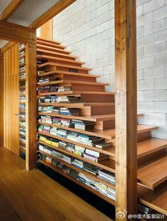 Bookshelves Under Stairs under stairs bookshelf | for the home | pinterest | banisters