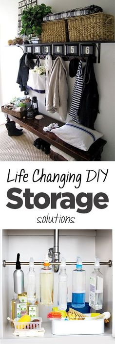 Life Changing DIY Storage Solutions