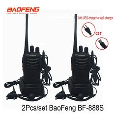 2 pcs/set Cheapest Walkie Talkie Baofeng BF-888s 5W 16CH UHF 400-470MHz BF 888S Interphone BaoFeng 888S Radio with USB charger  Price: 47.00 & FREE Shipping  #computergadgets #shopping #electronics #gadgets #home #LED #remotecontrol #security #toys #bargain #drones #coolstuff #headphones #bluetooth #gifts #xmas #happybirthday #fun