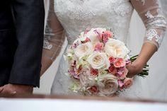 Buquê da noiva - Decoração rústico-chique - Casamento Paola Gonzalez e Felipe Sousa