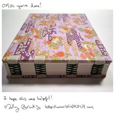 Exposed Tape Binding tutorial by Molly Brooks