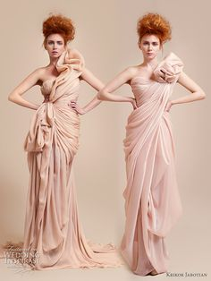 haute couture gowns | Reasons to dye my hair red and buy an amazing dress. Oh wait a minute ...
