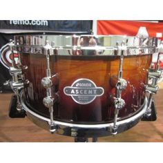 Sonor Ascent Series 14x6.5 Snare Drum Die Cast Burnt Fade