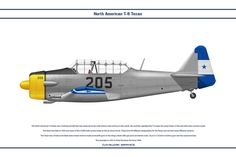 The North American Texan was a training aircraft that saw universal service with almost every air force in the world. Football War, Military Weapons, Texans, Honduras, Colour Schemes, Air Force, Fighter Jets, Aircraft, Harvard