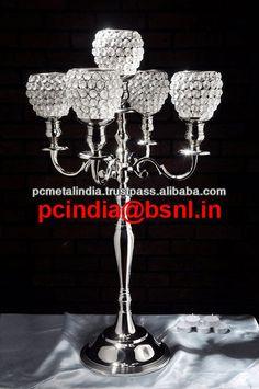 flower bowl wedding candelabra,crystal candelabra wedding centerpieces,wedding crystal candelabra with on top flower bowl c/ball