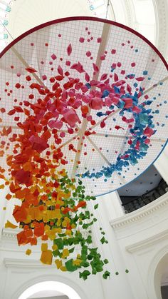 This Urban Artist Creates Amazing Rainbow Colored Art Around The World