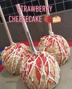 Fun Baking Recipes, Apple Recipes, Sweet Recipes, Dessert Recipes, Gourmet Caramel Apples, Minions, Strawberry Cream Cakes, Delicious Desserts, Yummy Food