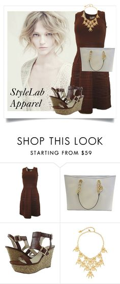 """""""SHOP - StyleLab Apparel"""" by ladymargaret ❤ liked on Polyvore featuring Alberta Ferretti, Vince Camuto and Susan Caplan Vintage"""