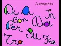 Preposizioni semplici italiane
