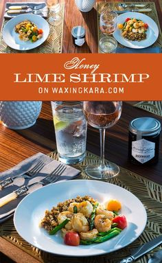 Shrimp is an Eastern Shore summer favorite. This honey lime shrimp is slightly sweet, caramelized and tangy. Toss in your favorite seasonal vegetables and you have the prefect quick meal! Vegetable Seasoning, Honey Recipes, I Want To Eat, Group Meals, One Pot Meals, Quick Meals, Slow Cooker Recipes, Shrimp, Dinner Recipes