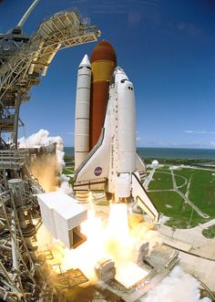 On the 4th of July in 2006, the Space Shuttle Discovery put on a fireworks show to remember. (NASA)