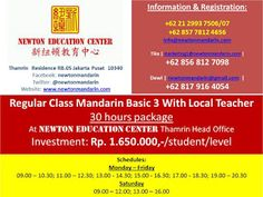 newtonmandarin.com: Latest News: Opening New Regular Class Mandarin Ba...