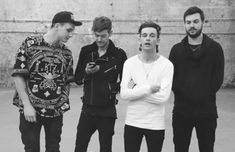 George Daniel, Adam Hann, Matty Healy, Ross MacDonald