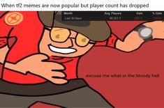 This actually confuses me Team Fortress 2 Medic, Rasengan Vs Chidori, Tf2 Memes, Team Fortess 2, Christian Films, Video Game Memes, Hilario, Pokemon Memes, Band Memes