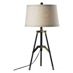 Elk Lighting Functional Tripod Table Lamp - D309