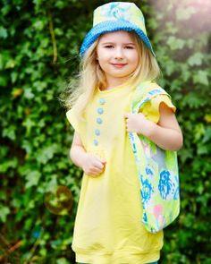 Lækker blød kjole i glad gul isoli   - stof2000.dk