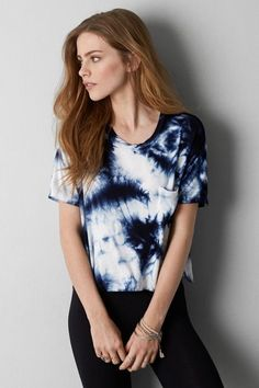 DON'T ASK WHY BOXY POCKET T-SHIRT $29.95 AE