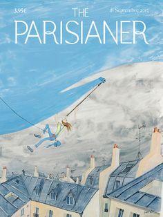 L'association « La Lettre P » a demandé à 100 illustrateurs d'imaginer les couvertures d'un magazine fictif s'appelant « The Parisianer » pour mettre en avant le talent des illustrateurs français et leur vision de Paris et pour rendre hommage aux couvertures du magasine « The New Yorker ». Je suis un peut en retard, le vernissage de l'exposition ayant eu …