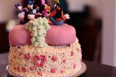 Gâteau Raphaëlle 3 ans!