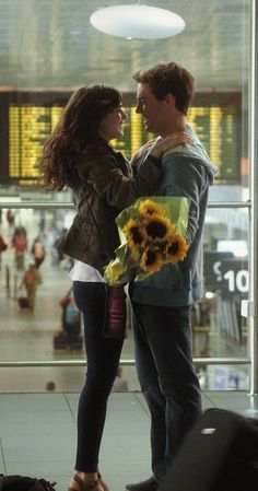 Lily Collins and Sam Claflin in Love, Rosie Film Love Rosie, Alex And Rosie, Movie Couples, Cute Couples, Series Movies, Movies And Tv Shows, Love Movie, Movie Tv, Movie Scene
