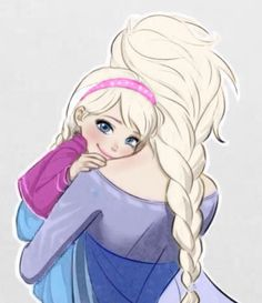 Elsa & Jessica (just an edit, give credit to real artist)