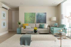 Living Room : Salas de estar modernas por Marilia Veiga Interiores