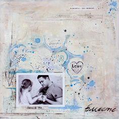 ♥ Together ♥ by Tanya Batrak (using 7 Dots Studio paper)