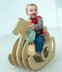Stringed Swaying Seats : GRO^ Rocking Horse