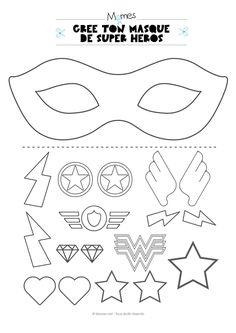 Superhero Cuff Template Free templates superhero (With