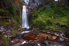 Glenevin Waterfall by Stephen Emerson on 500px